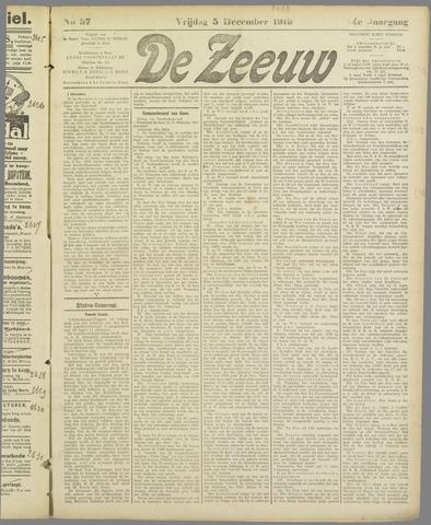 De Zeeuw. Christelijk-historisch nieuwsblad voor Zeeland 1919-12-05