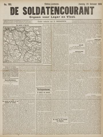 De Soldatencourant. Orgaan voor Leger en Vloot 1915-10-24