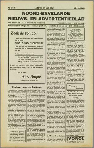 Noord-Bevelands Nieuws- en advertentieblad 1952-07-26
