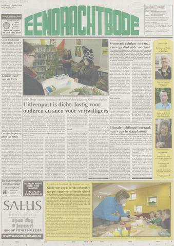 Eendrachtbode (1945-heden)/Mededeelingenblad voor het eiland Tholen (1944/45) 2010-01-07