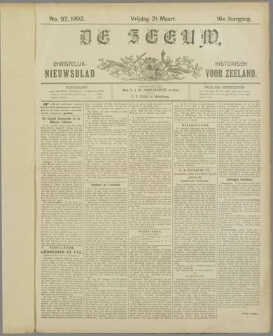 De Zeeuw. Christelijk-historisch nieuwsblad voor Zeeland 1902-03-21