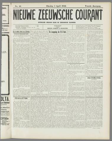 Nieuwe Zeeuwsche Courant 1906-04-03