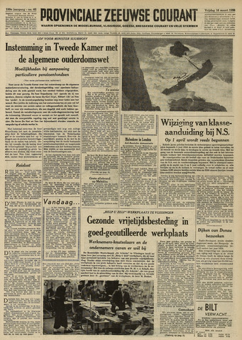 Provinciale Zeeuwse Courant 1956-03-16