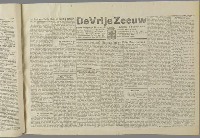 de Vrije Zeeuw 1945-02-03