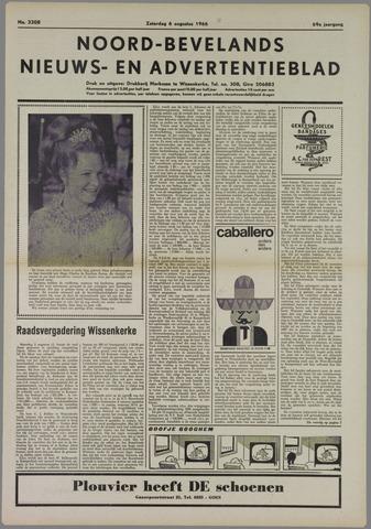 Noord-Bevelands Nieuws- en advertentieblad 1966-08-06
