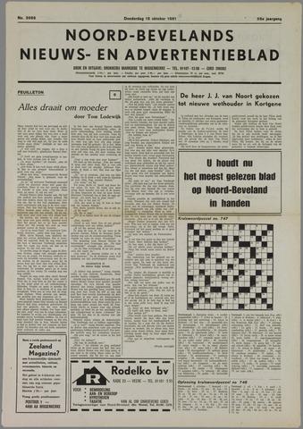 Noord-Bevelands Nieuws- en advertentieblad 1981-10-15