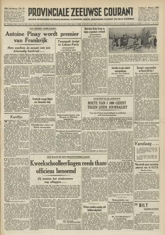 Provinciale Zeeuwse Courant 1952-03-07