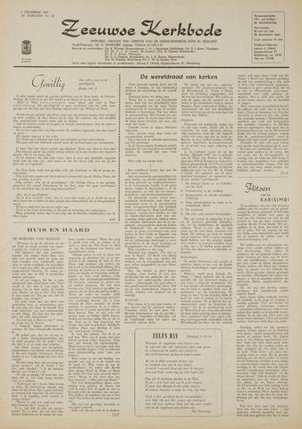 Zeeuwsche kerkbode, weekblad gewijd aan de belangen der gereformeerde kerken/ Zeeuwsch kerkblad 1969-12-04