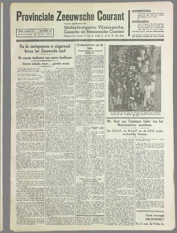 Provinciale Zeeuwse Courant 1940-07-22