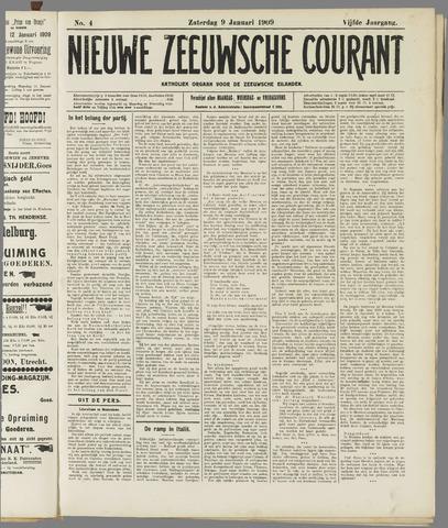 Nieuwe Zeeuwsche Courant 1909-01-09