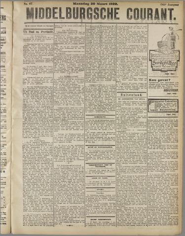 Middelburgsche Courant 1922-03-20