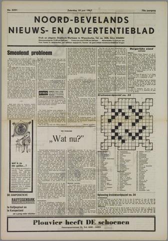 Noord-Bevelands Nieuws- en advertentieblad 1967-06-10