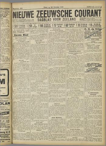 Nieuwe Zeeuwsche Courant 1922-10-28