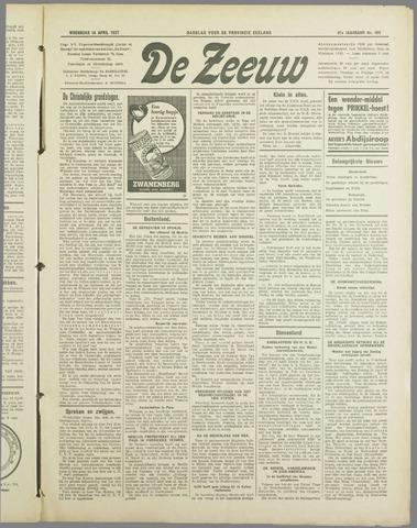 De Zeeuw. Christelijk-historisch nieuwsblad voor Zeeland 1937-04-14