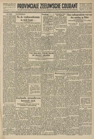 Provinciale Zeeuwse Courant 1946-07-10