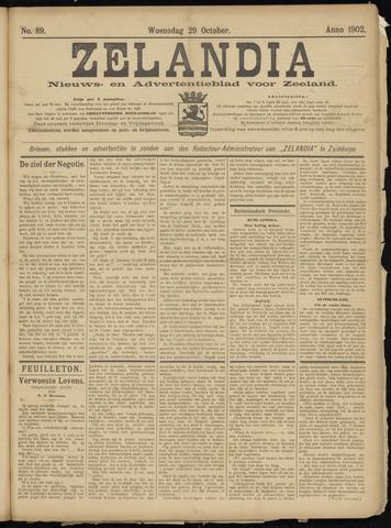 Zelandia. Nieuws-en advertentieblad voor Zeeland | edities: Het Land van Hulst en De Vier Ambachten 1902-10-29