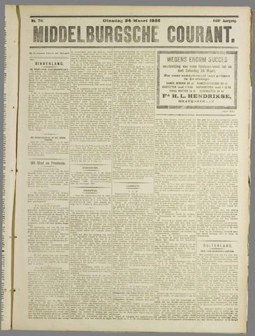 Middelburgsche Courant 1925-03-24