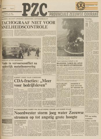 Provinciale Zeeuwse Courant 1974-11-29