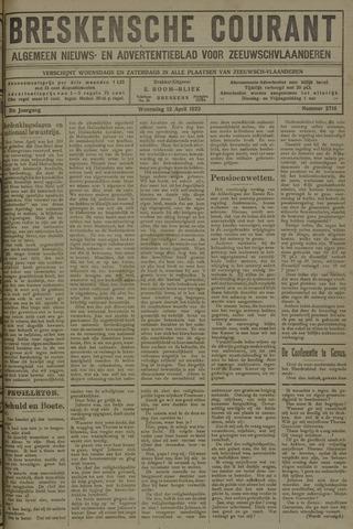 Breskensche Courant 1922-04-12