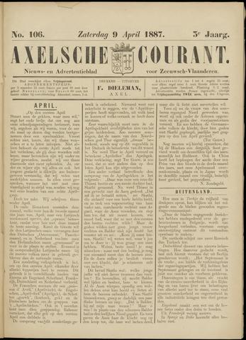 Axelsche Courant 1887-04-09