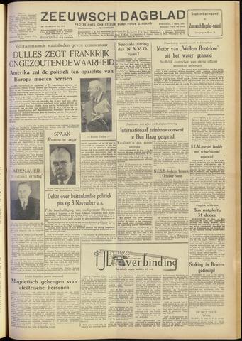 Zeeuwsch Dagblad 1954-09-01
