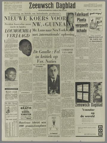 Zeeuwsch Dagblad 1960-09-06