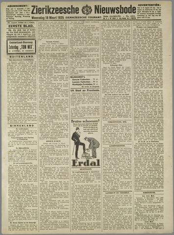 Zierikzeesche Nieuwsbode 1925-03-18