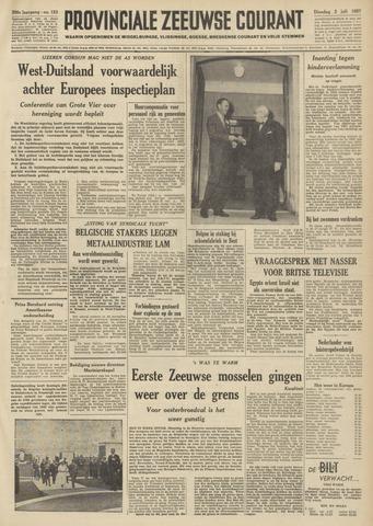 Provinciale Zeeuwse Courant 1957-07-02