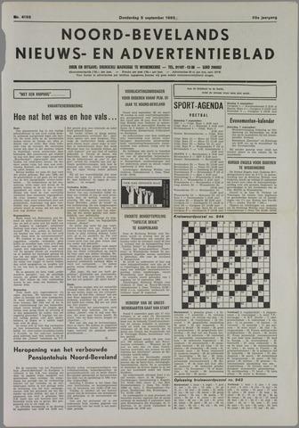 Noord-Bevelands Nieuws- en advertentieblad 1985-09-05