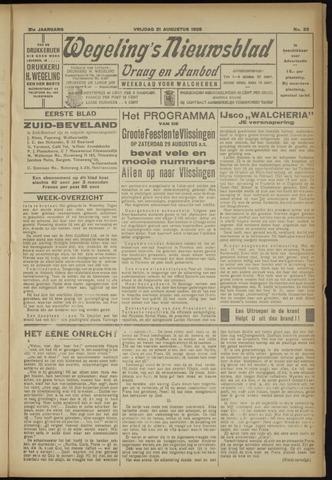 Zeeuwsch Nieuwsblad/Wegeling's Nieuwsblad 1925-08-21