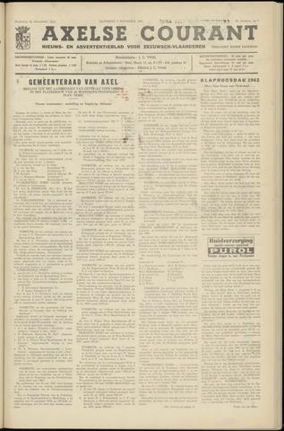 Axelsche Courant 1963-11-02