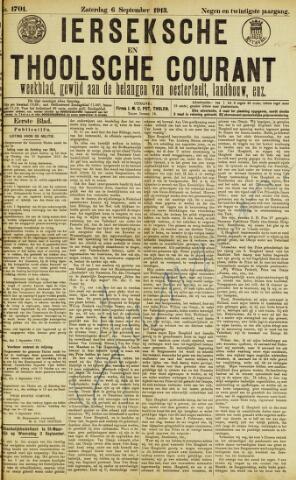 Ierseksche en Thoolsche Courant 1913-09-06