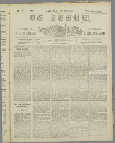 De Zeeuw. Christelijk-historisch nieuwsblad voor Zeeland 1911-10-21