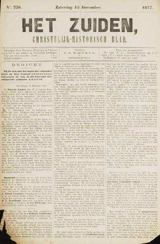 Het Zuiden, Christelijk-historisch blad 1877-12-15