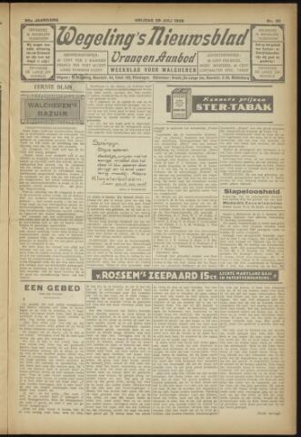 Zeeuwsch Nieuwsblad/Wegeling's Nieuwsblad 1929-07-26