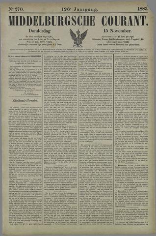 Middelburgsche Courant 1883-11-15