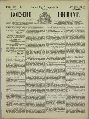 Goessche Courant 1887-09-08