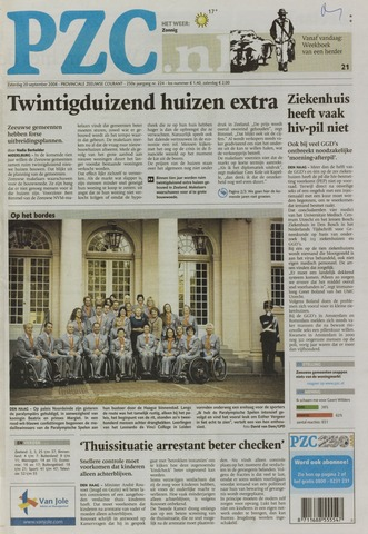 Provinciale Zeeuwse Courant 2008-09-20