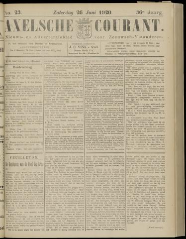 Axelsche Courant 1920-06-26
