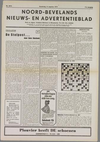 Noord-Bevelands Nieuws- en advertentieblad 1974-08-15