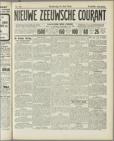 Nieuwe Zeeuwsche Courant 1916-07-13