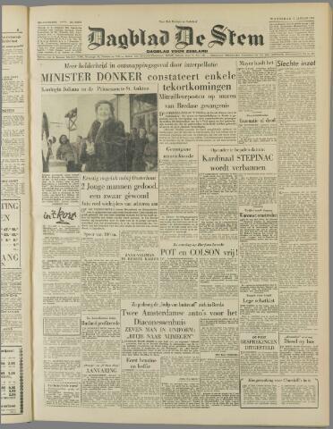de Stem 1953-01-07