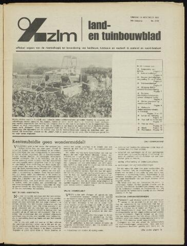 Zeeuwsch landbouwblad ... ZLM land- en tuinbouwblad 1972-11-10