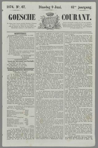 Goessche Courant 1874-06-09