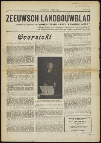 Zeeuwsch landbouwblad ... ZLM land- en tuinbouwblad 1954-04-03