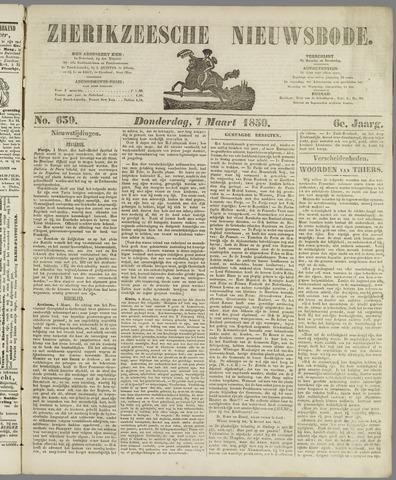 Zierikzeesche Nieuwsbode 1850-03-07
