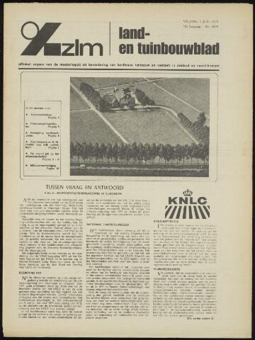 Zeeuwsch landbouwblad ... ZLM land- en tuinbouwblad 1970-07-01