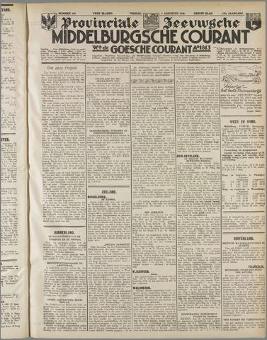 Middelburgsche Courant 1936-08-07
