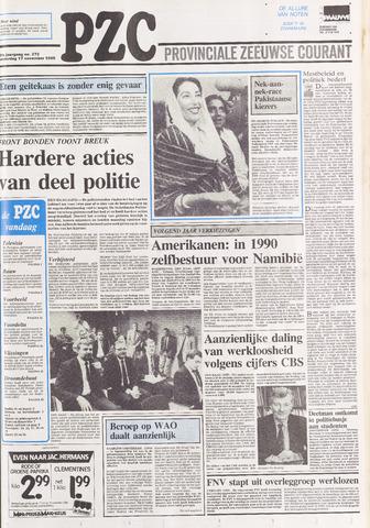 Provinciale Zeeuwse Courant 1988-11-17