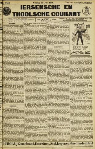 Ierseksche en Thoolsche Courant 1926-07-23